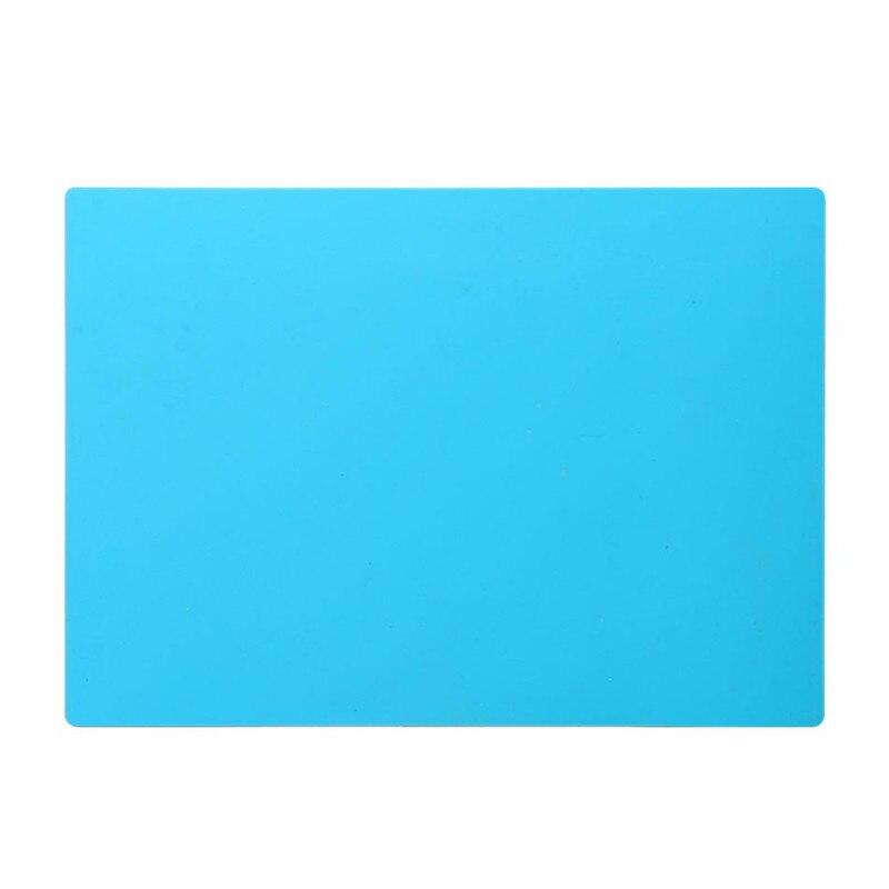 Šviesiai mėlynos spalvos šilumą izoliuojančio silikono padėklo - Įrankių komplektai - Nuotrauka 6