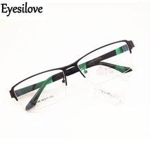 8850bd2fd6b Eyesilove men s business eyewear frame for big face optical frame acetate Temple  Prescription glasses frame Eyeglasses Frames