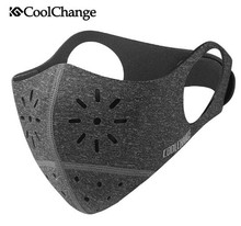 CoolChange Bike Mask For Face Mouth-Muffle Mask Dust Dustproof Bicycle Sports Protect Training Mask MTB Cycling Accessories цена