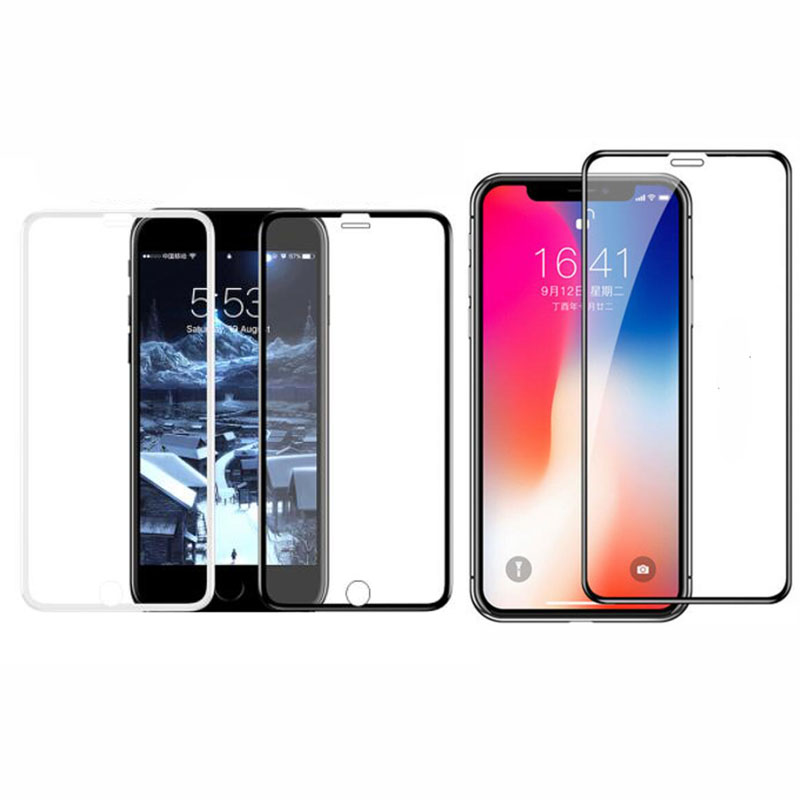 10D Tempered Glass Full Front LCD Screen Protector Protective Film Guard For Iphone 6 6s 7 8 Plus 11 Pro X XR XS 11pro Max Cover
