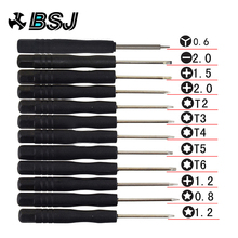 12 Pcs Set Mini Multi-Function Magnetic Precision Screwdriver for Tablet PC ect precision screwdriver set  iphone kit