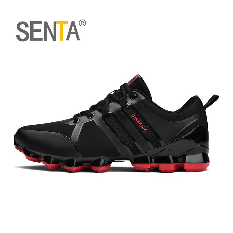 SENTA New Blade Warrior Running Shoes Korean Cool Spring Shoes Non-slip Light Shock Absorber Breathable Sports Shoes Zapatos