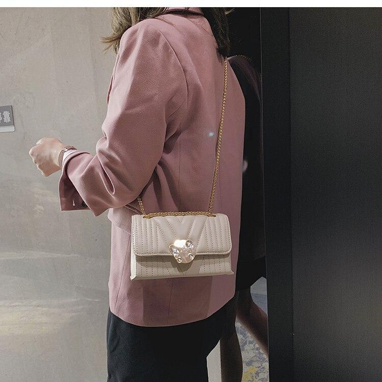 newest fashion bags bag women chain shoulder crossbody bag women's handbags (23)