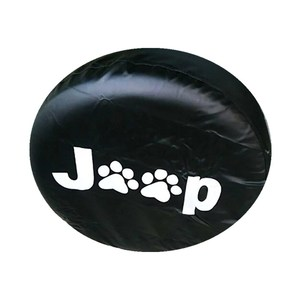 Image 2 - 14 17inch Tire Cover PVC Spare Tire Cover Fit For Jeep Wrangler JK Sports Sahara Rubicon X Unlimited 2/4 DR Accessories