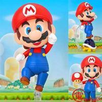 Nendoroid سوبر ماريو الأخ ماريو #473/لويجي #393 pvc عمل الشكل النادرة نموذج لعبة دمية