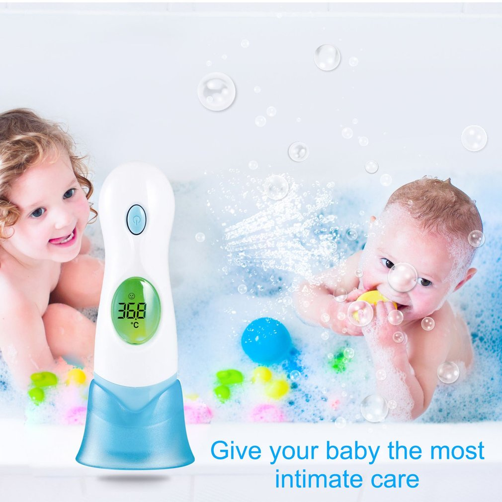 8 In 1 Multifunction Baby Adult Infrared Termometer LCD Display bebes Digital Ear Forehead Monitor Thermometer Health termometro
