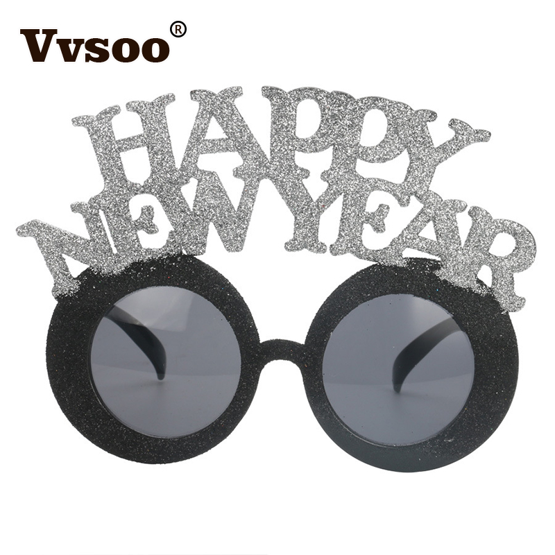Funny 2018 New Year Party Glasses Photobooth Props Celebrations Kids ...