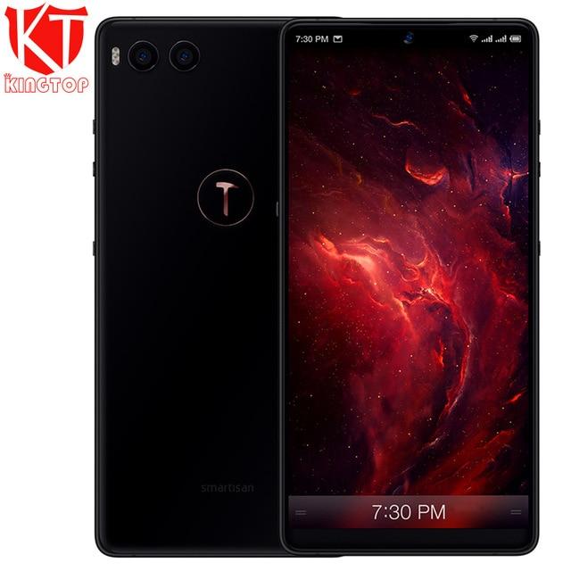 D'origine Smartisan Écrou R1 Mobile Téléphone 6 gb ROM 128 gb RAM Snapdragon 845 Octa Core 2.8 ghz Double Arrière camrea 12MP + 24MP Téléphone