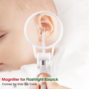 Image 5 - ベビー耳クリーナー耳ワックス除去ツール懐中電灯耳かき耳クリーニング垢除去発光耳キューレットライトスプーン健康車