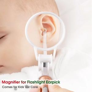Image 5 - Baby Ohr Reiniger Ohr Wachs Entfernen Werkzeug Taschenlampe Earpick Ohr Reinigung Ohrenschmalz Entferner Luminous Ear Kürette Licht Löffel Gesundheit Auto
