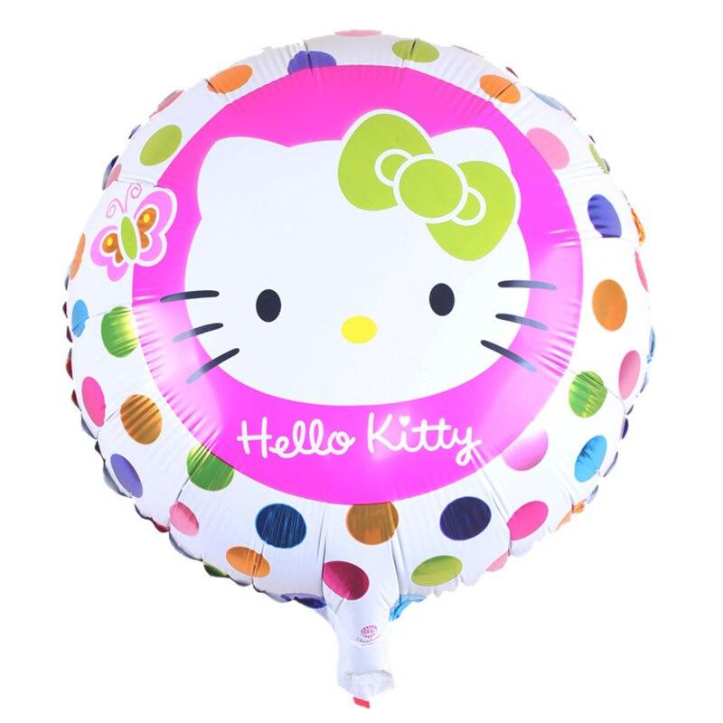 Горячая Распродажа 18 дюймов KT Фольга украшения из воздушных шаров на день рождения воздушные шары детские игрушки, принадлежности для вечеринок - Цвет: A