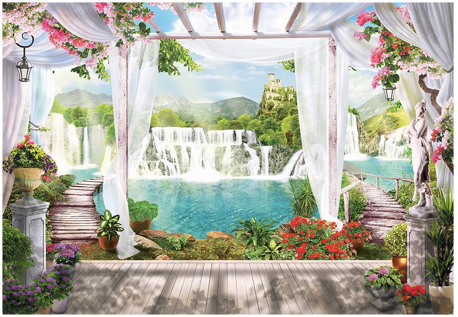 Customized 3d Photo Wallpaper 3d Wall Murals Wallpaper 3 D