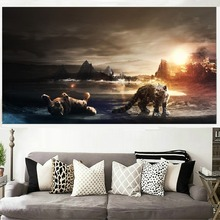 5D DIY Diamond embroidery Leopard animals Pictures Full Resin round rhinestone mosaic kit Painting cross stitch