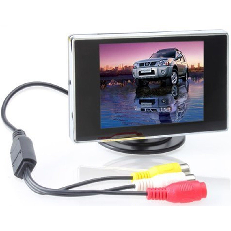 3 5 inch mini tft lcd car monitor 3 5 display screen car. Black Bedroom Furniture Sets. Home Design Ideas