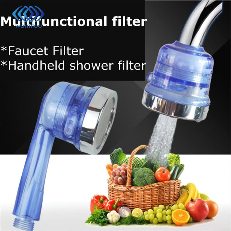 abs chlorine removing faucet water purifier sprinkler handle basin tap filter tip. Black Bedroom Furniture Sets. Home Design Ideas
