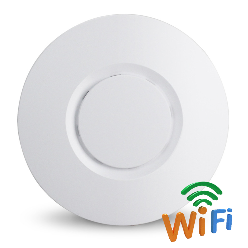300Mbps Ceiling WiFi AP Wireless Access Point Power Over Ethernet Wi Fi Repeater Router - PoE Adapter Included