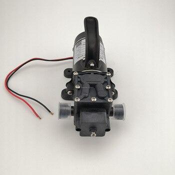 Kleine Wasserpumpe   10L/min 120W Elektrische Hochdruck Selbstansaugende Kleine Dc Wasserpumpe Membran Pumpe 12v 24v