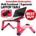 Мультифункциональный Эргономичный складной ноутбук стол на кровати стоят E-таблица Портативный Ноутбук стенд с 2 USB Охладитель и коврик для мыши