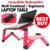 Multi Funcional Ergonómico plegable portátil soporte de mesa para la cama Mesa Portátil Portátil de pie con 2 USB y mouse pad