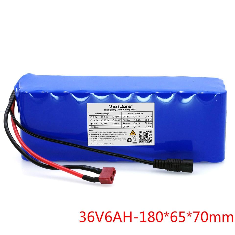 36 V 6Ah (10S3P) batteries rechargeables, changement de vélos, batterie de voiture électrique, batterie au lithium 42 V + livraison gratuite
