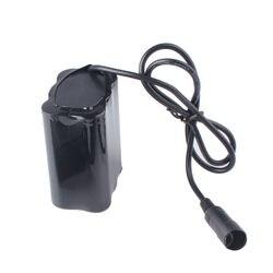 8.4V 12800 MAh 18650 Baterai 6X18650 Lithium Ion Rechargeable Battery Pack untuk Sepeda Sepeda Lampu Depan