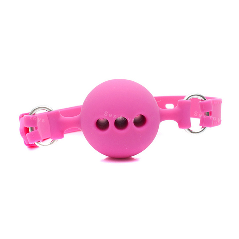 Small Size 38mm Full Silicone Ball Gag for Adult Game Slave Open Mouth Gag  Bondage Restraints Sex Products Erotic Adult Sex Toys-in Adult Games from  Beauty ...
