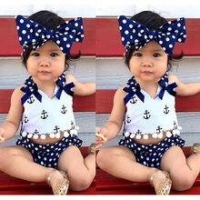 Tops+Navy Polka Dots Outfit Clothing Set