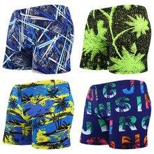 Мужские плавки, мульти купальник с принтом, плавки, купальный костюм, пляжные боксеры, шорты, одежда для купания