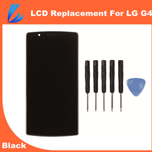 LL TRADER Black Quality A AA Touch Screen Display LCD For LG G4 H810 H815 VS999 Assembly Replacement Digitizer With Frame + Tool
