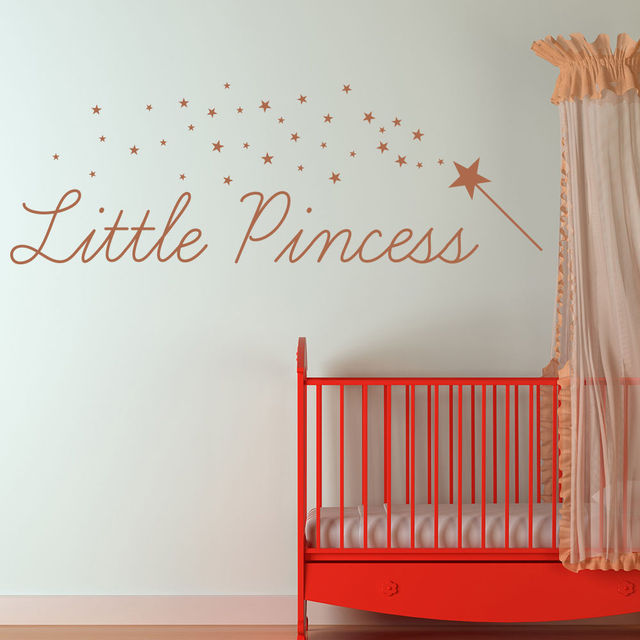 Little Princess Vinyl Wall Stickers Quotes Wall Decal Girls Room Nursery Home Decor Removable DIY Self & Little Princess Vinyl Wall Stickers Quotes Wall Decal Girls Room ...
