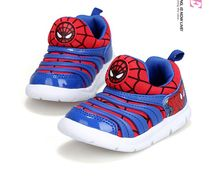 2017 New Fashion Kids Sports Shoes 7 Colors Boys Spiderman Sneakers Children Breathable Brand Caterpillar Shoes soft comfortable