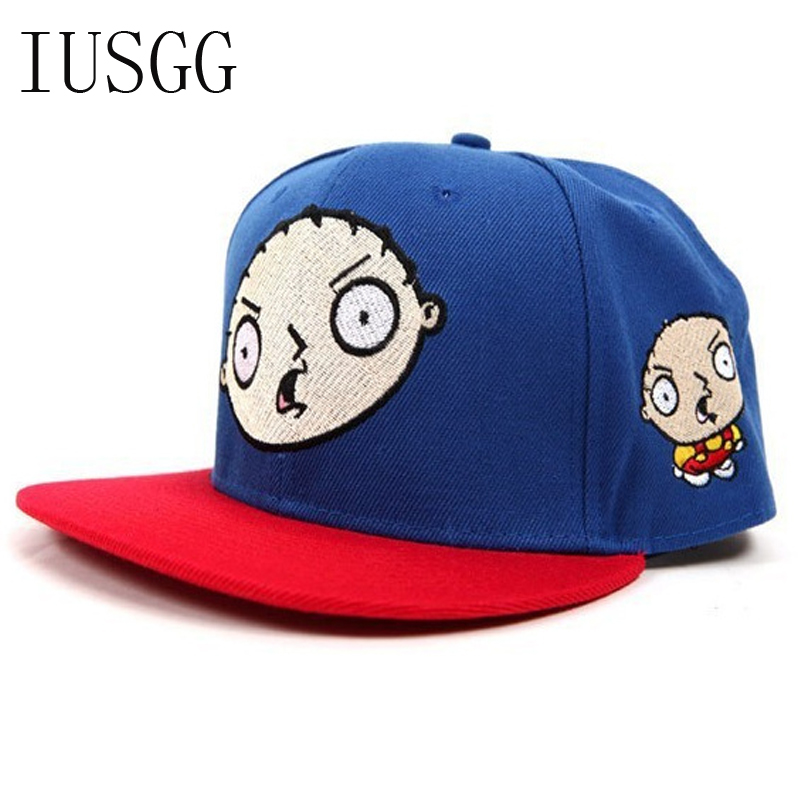 Knowledgeable Youth Doll Head Cartoon Embroidered Caps Men Women Unisex Baseball Cap Snapback Hat Sunhat Gorras Casual Adjustable Hats Cap Available In Various Designs And Specifications For Your Selection