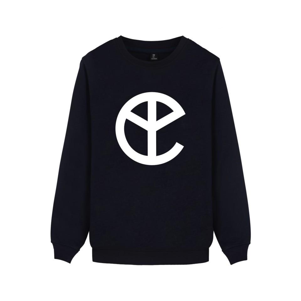 K-pop Fashion Yellow Claw winter capless hoodies sweatshirt Cotton hoodie funny Homme hip hop roupas 4xl