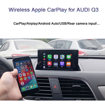 For Q3 AUDI 2013 to 2018 CarPlay Integration Car CarPlay Interface Support Waze Whatsapp Smartphone Mirror Link