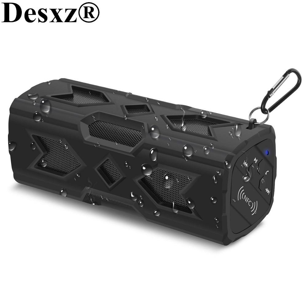 Desxz D90 Drahtlose Bluetooth Lautsprecher Tragbare NFC Super Bass 10 Stunde Spielzeit Outdoor Stereo CSR Wasserdichte Sport