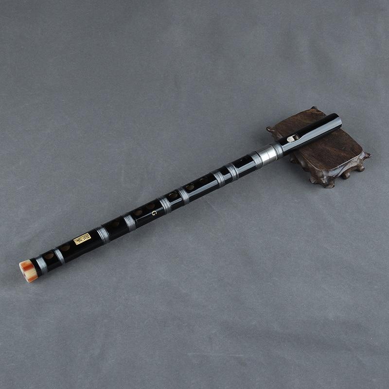 2-х секционный китайский флейта бамбуковые солнечные очки ручной работы, ветро-инструмент с китайский узел наиболее основной флейта вертикальный удар