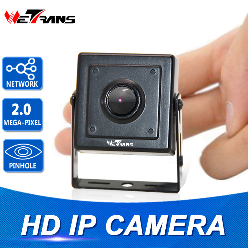 Mini IP Camera Starlight SONY Sensor H.264 plug and play 40*40mm Size 1080P 3.7mm Pinhole Lens Full HD Network Mini IP Camera-in Surveillance Cameras from Security & Protection    1