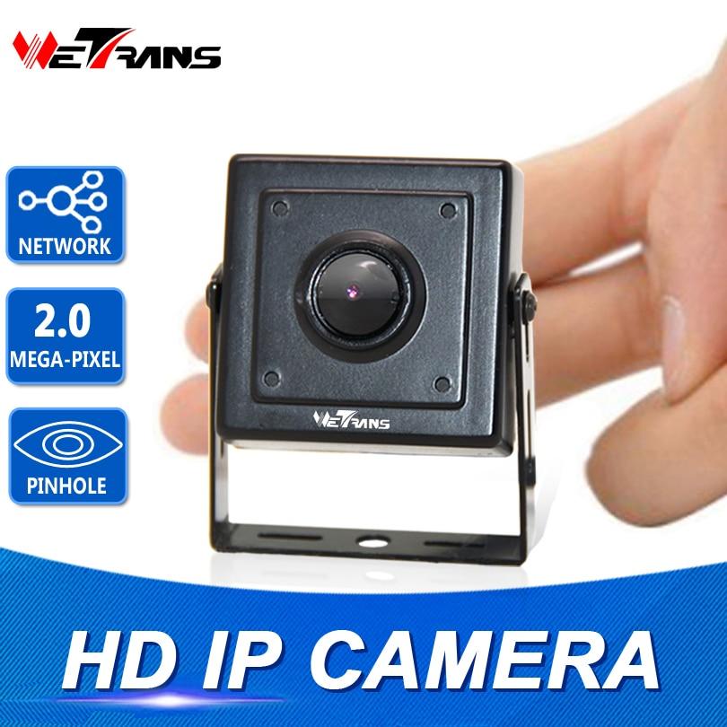 Mini IP Camera Starlight SONY Sensor H.264 plug and play 40*40mm Size 1080P 3.7mm Pinhole Lens Full HD Network Mini IP Camera