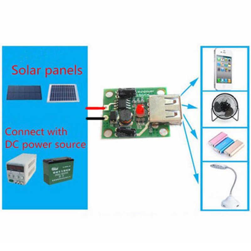 DC 6 V-20 V 18V à 5V 2A Max régulateur de chargeur USB pour panneau solaire pli sac/panneau cellulaire/Module d'alimentation de charge de téléphone