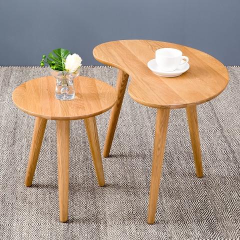 New Nordic Creative Table De Salon Ovale Table Basse Petite Table