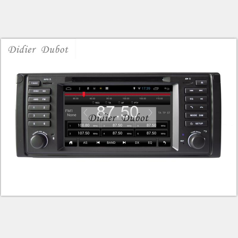 imágenes para 6.0.1 Android Coches Reproductor de DVD GPS Navi de Radio estéreo Del Coche para BMW E38 E39 X5 con wifi 3G GPS Bluetooth espejo enlace