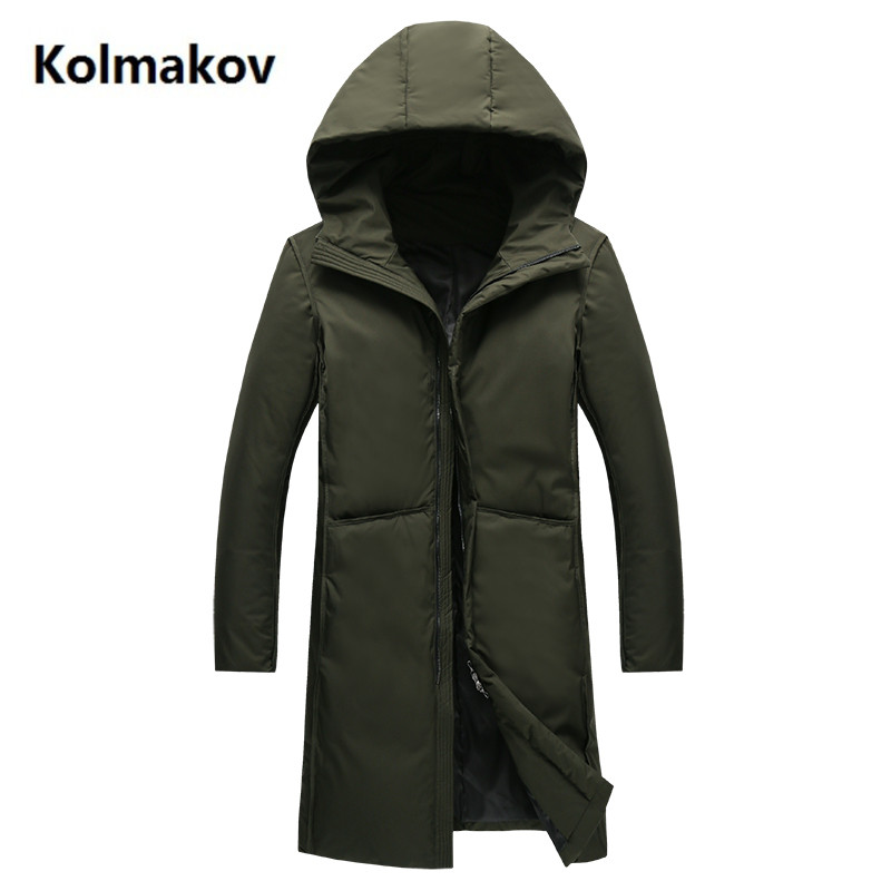 2017 winter Long style Men's casual thicken jackets down jacket Men's hooded Down Coats trench coat men Parkas men size M-3XL 2015 new hot winter thicken warm woman down jacket coat parkas outerwear hooded splice mid long plus size 3xxxl luxury cold