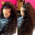 Необработанные Бразильский девственные волосы вода волна переплетения пучки 4 пучки естественный яки вьющиеся волосы 100 процентов человеческих волос быстрый предложения