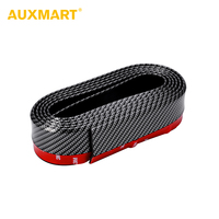 Auxmart Dark Multi Color 2 5m X 52mm Car Styling Mouldings For Rear Bumper Body Kit