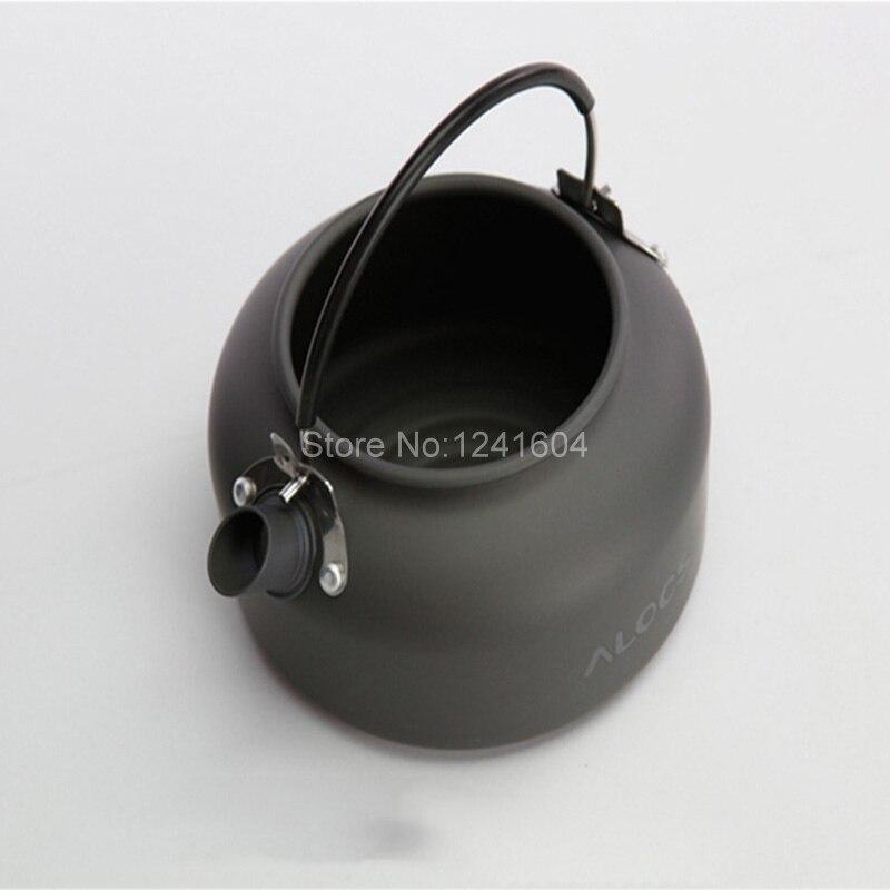 ALOCS cw-k02 0.8l Одежда высшего качества Открытый чайник Кофе чайник для Портативный Пеший Туризм Пикник туристическое снаряжение Кухонная посуд...
