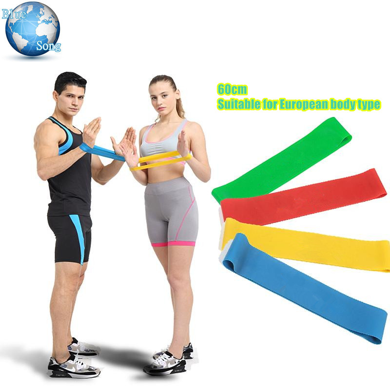 Upgraded 60cm Fit Eu Fitness Equipment Resistance Bands