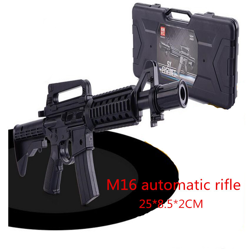 Dedicated Army Weapons Model Vietnam War Us Military Assault Rifle Gun Model For 12 Action Figure Body Accessory Soft And Light Toys & Hobbies