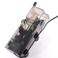 3.5w Acrylic Mini Aquarium Protein Skimmer Oil free Pump Filter For Fish Tank Water Maintenance 300l/h