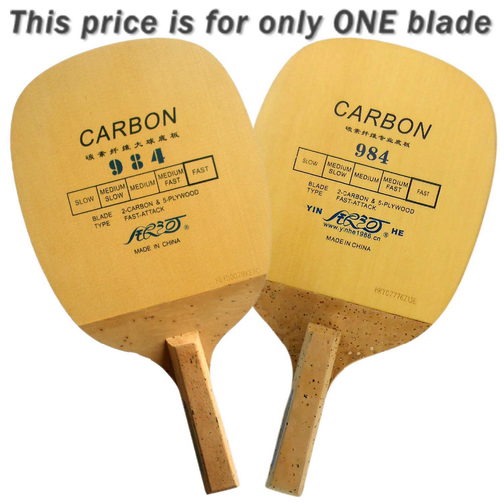 Galaxy Milky Way Yinhe 984 Carbon Fast-Attack Table Tennis Blade Japanese penhold for PingPong Racket galaxy milky way yinhe t 3 t 3 t3 4 wood 3 carbon table tennis blade for pingpong racket