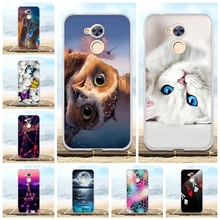 For Coque Huawei Honor 5A 6A 6C Case Silicon TPU Back Cover 3D Cute Capa For Honor 6A Pro Bag For Huawei Honor 6A 6C Phone Cases
